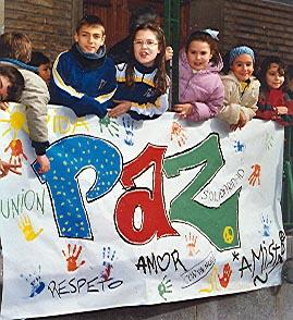 paz y valores escuela